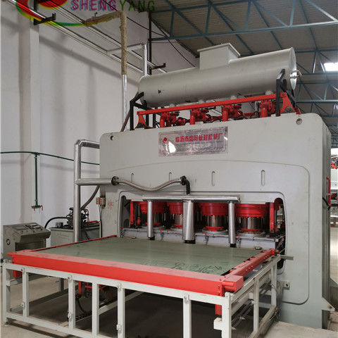 Woodworking machinery used short cycle hot press machine