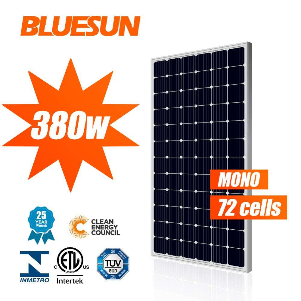 Solar Cell Panel Mono 330w 340watt 350w 360w 400 watt Solar Panel 5BB High Quality Grade A Panel Solar For Sale