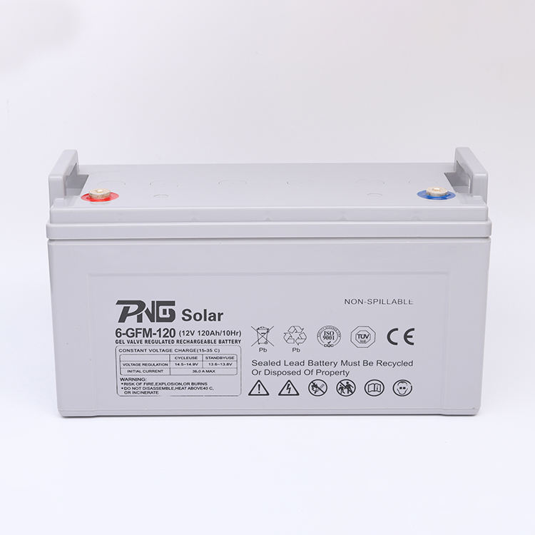 Active Polymer 12V 120Ah AGM Deep Cycle Gel Battery Solar Inverter Battery for Solar Power System