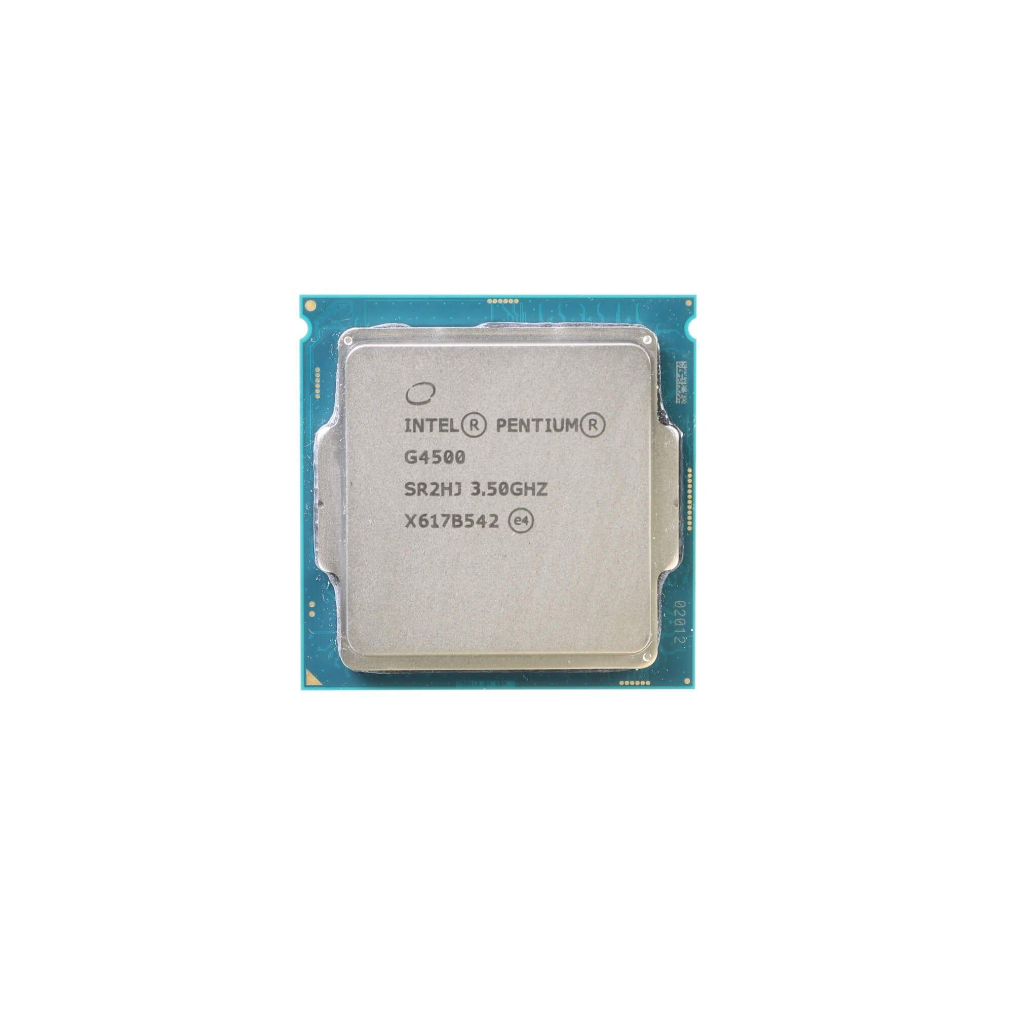 Intel Pentium G4500 CPU Processor 2 Core 3.50GHz 3MB L3 Cache 51W SR2HJ