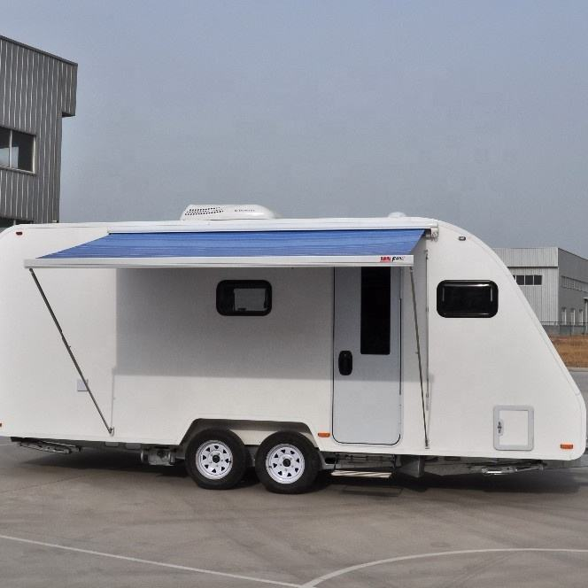 FRP RV Caravane Camping-Car Grande Muraille Wingle Camping Panneau Solaire Camping-Car