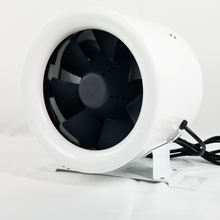 Hydroponics Duct Booster Intake Inline Axial Fan 8 Inch / 200mm