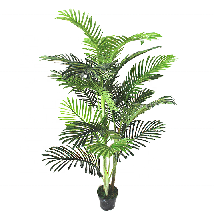150cm Artificial plastic palm tree with 3 branches 0969