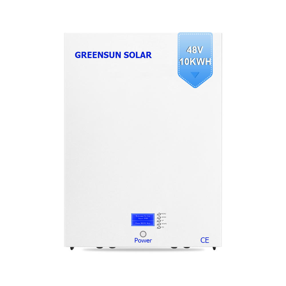 10Kwh Greensun Lithium-Ionen Batterie Lifepo4 48v 200ah Tesla Powerwall Solar Lagerung Batterie