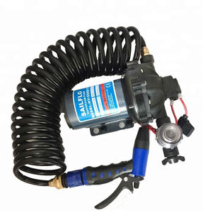 Sailflo electric 70PSI 20LPM portable car care water pumps washdown deck pump 12V DC high pressure car washer