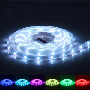 surmountor Decoracion Flexible 5050 RGB Waterproof fita tiras cinta luces LED Strip Lights 5m 12v 24v bande led strip light