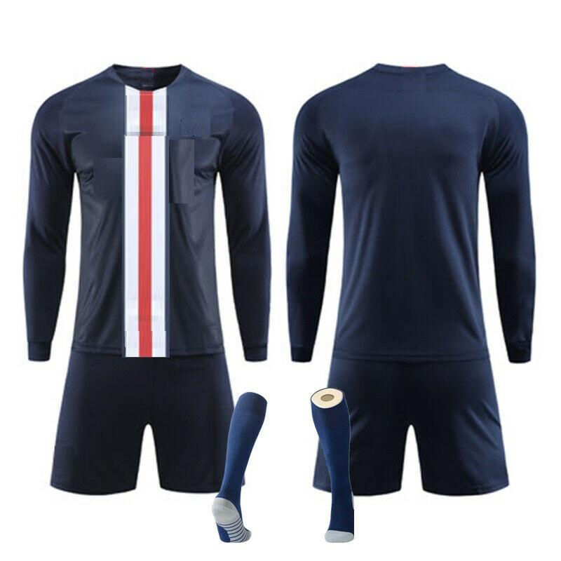 2020 cheap thai quality soccer sportswear type maillot football jersey design, Long sleeve team jersey soccer wear