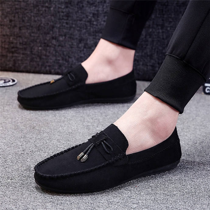 Wholesale Spring Fashion Lightweight Slip-on Loafer Car Driving Shoes for Man