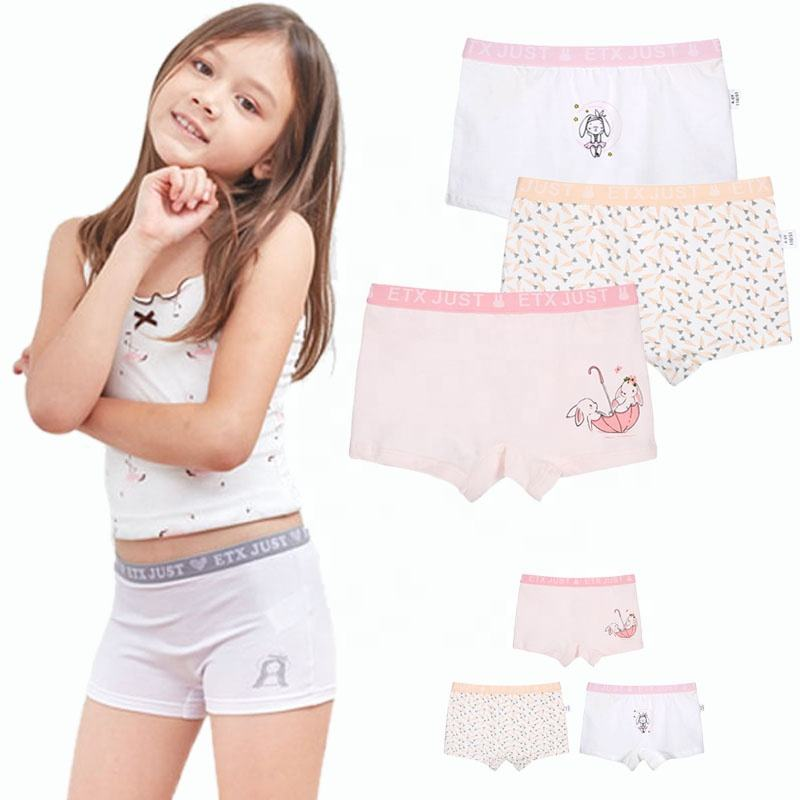 ETX Cartoon Cotton Children Underwear For Girls Briefs