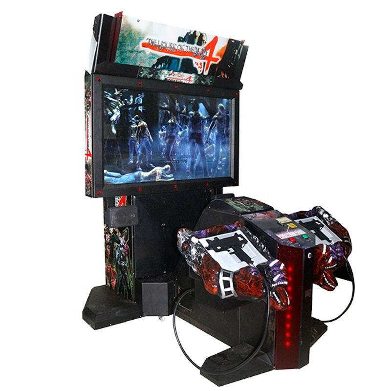 coin operated games 55LCD The House Of The Dead Ver.4 shooting simulator games machine