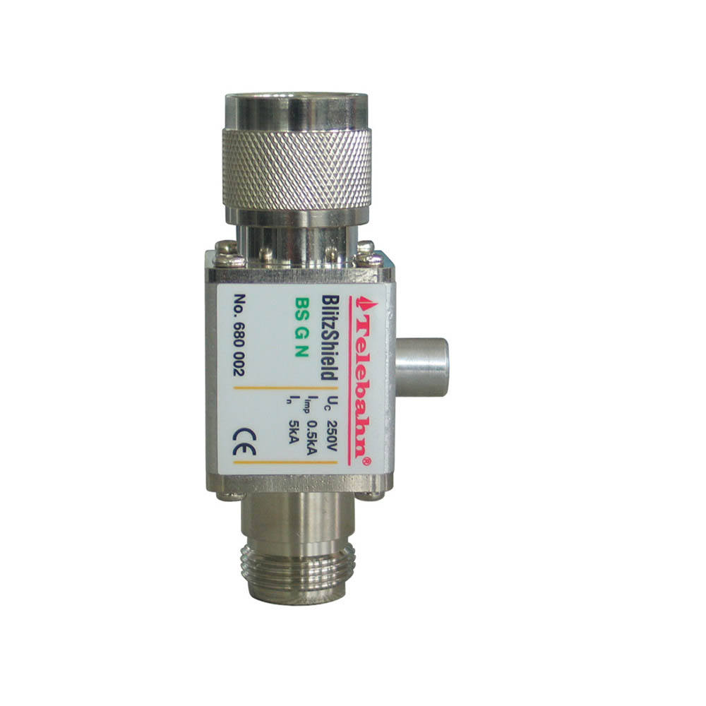 lightning arrester/ Coaxial Surge Arrester N type connector/ Stainless steel gas surge