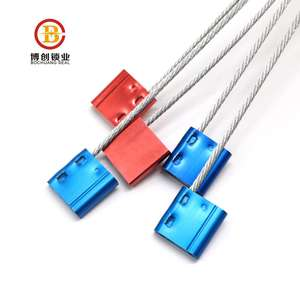 standard high security cable lock shipping seal