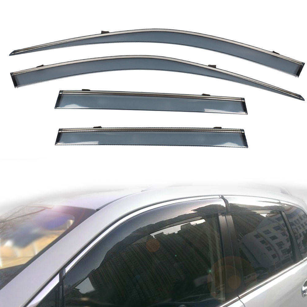 Car Side Window Wind Sun Rain Guard Deflectors Window Visor für Forester 2019-2020