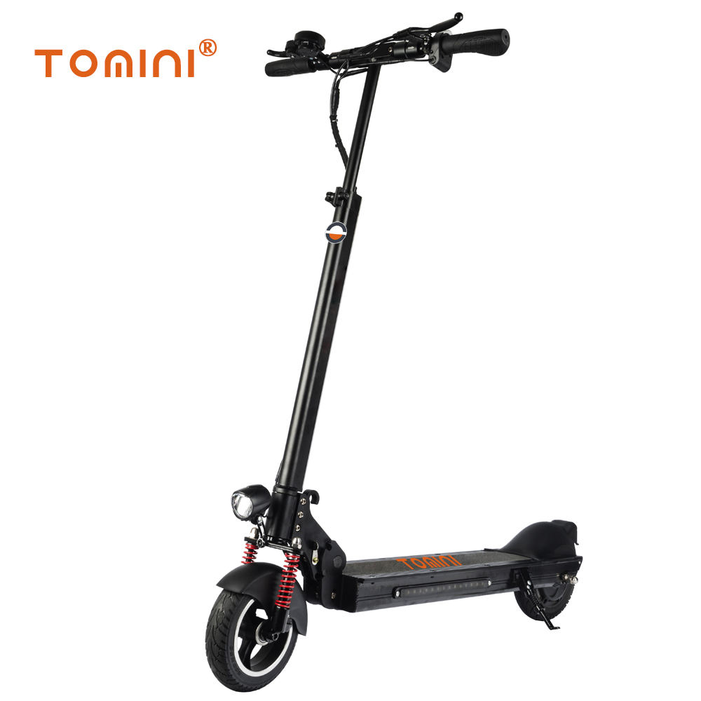 Korea popular 8inch 350w folding portable kick electric scooter with 36V 48V lithium battery