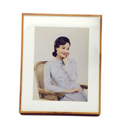 Factory Price Custom Luxury Solid wood Photo Frame