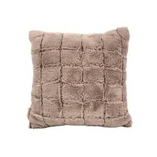 Home Decorative Faux Fur Seat  Cushion For Sofa