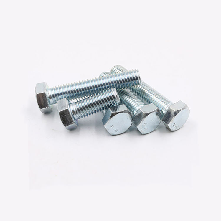 Fasteners High Tensile Custom Stainless Steel M27 Hex Bicycle Bolt