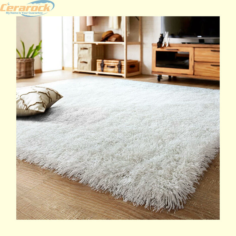 Different patterns polyester microfiber shaggy carpet modern carpets silk shaggy