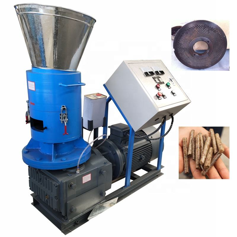 Flat Die CE Approved Wood Pelletizer Machines for Biomass Fuel, Wood Pellet Mill Price for sale