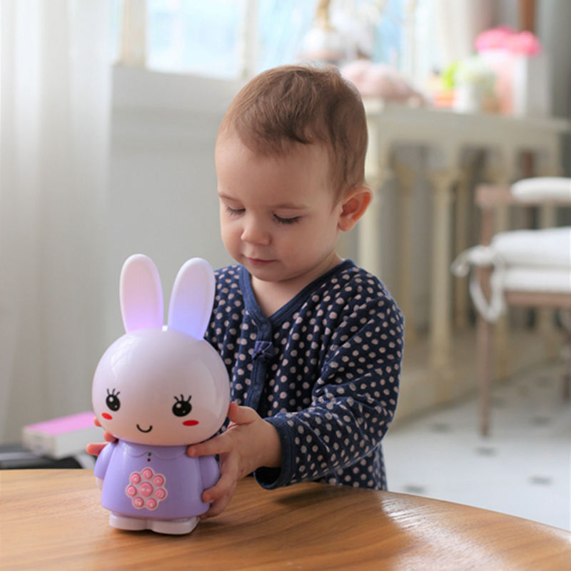 Lullaby Bedtime Story Teller Smart Preschool Kid Intelligent Learning Machine Toy alilo G6 Honey Bunny Spanish Juguetes