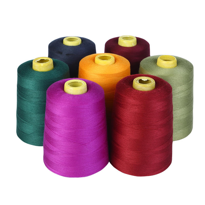 High Tenacity 100% Spun Polyester Sewing Thread 30S/3 40S/2 40S/3 4000Yard/3000Yard