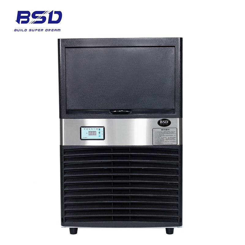 Advanced stainless steel pellet ice maker