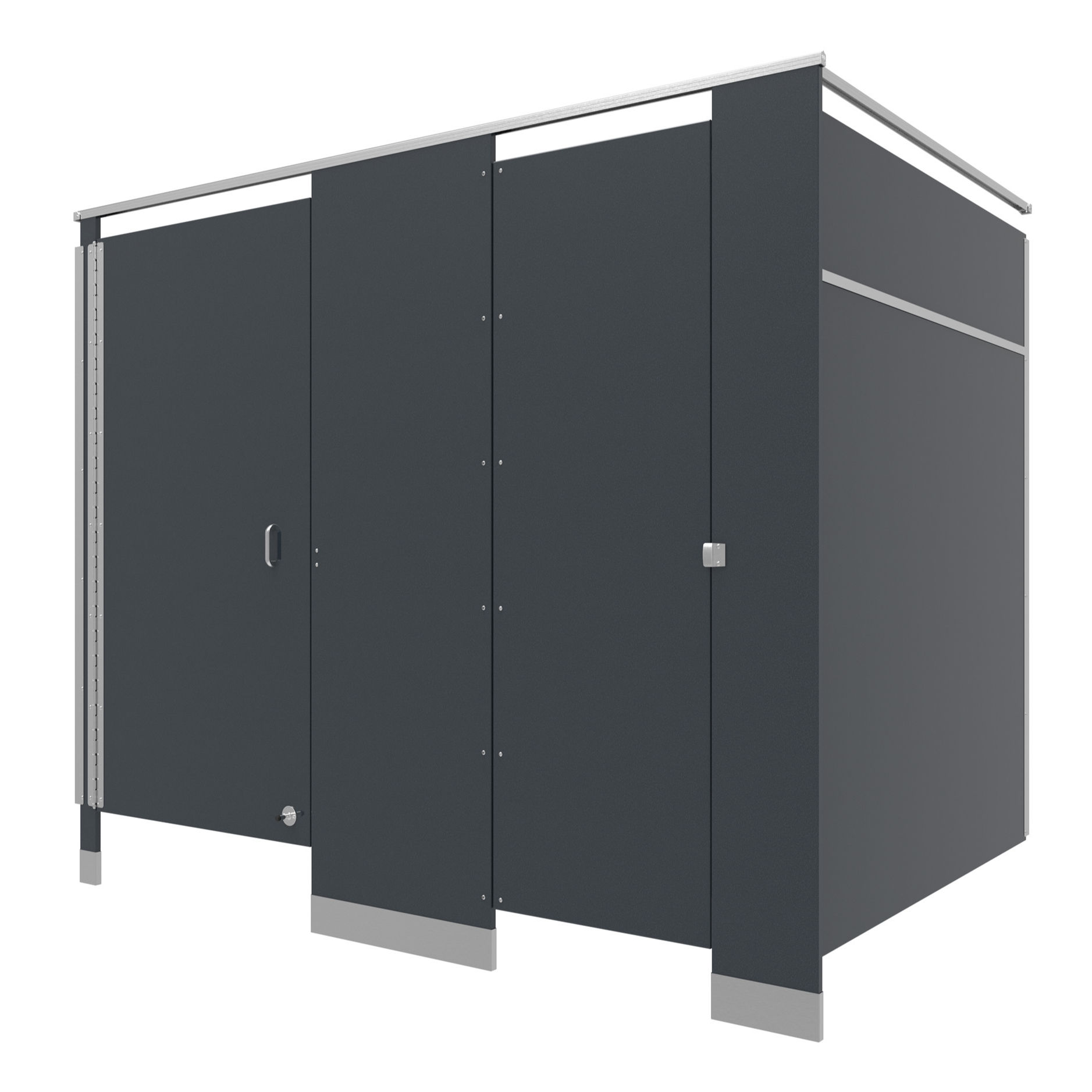 New Design Commercial Shower Partitions Restroom Partition Toilet Cubicles Stalls HPL Panel Toilet Wall Partition