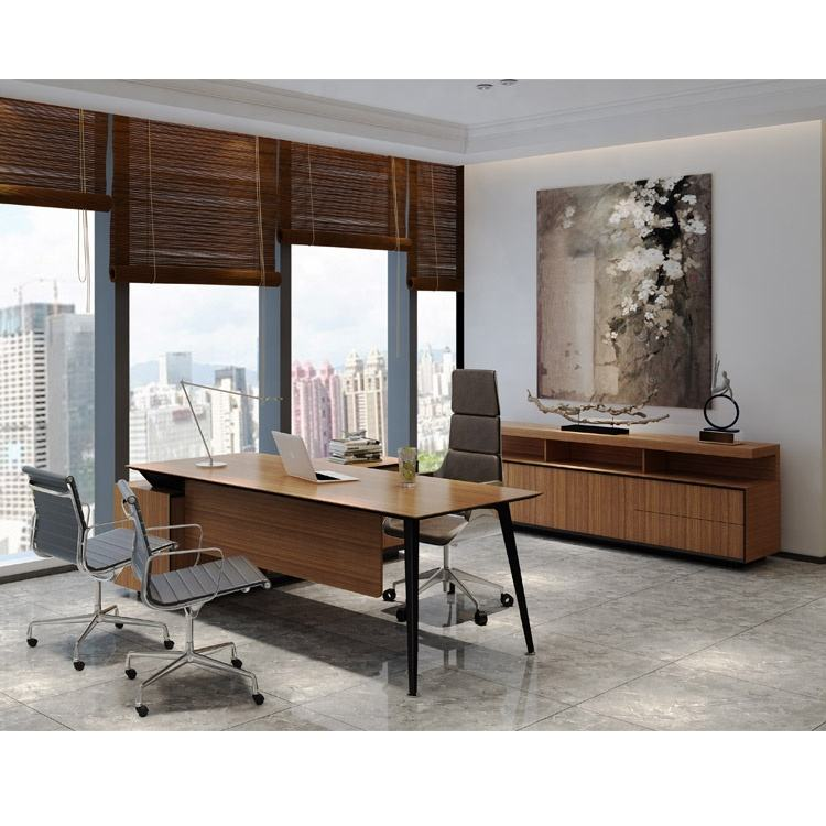 Luxury [ Modern Desk ] Modern Professional Produce Luxury Manager Office Set Executive Modern Office Desk