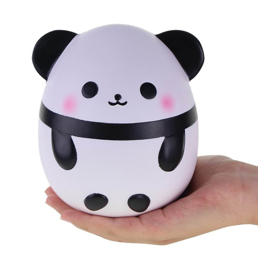 Squishies Panda Egg Jumbo Squishy Slow Rising Squeeze Toys Scented Kawaii Squishies Animal Toy for Kids Adults