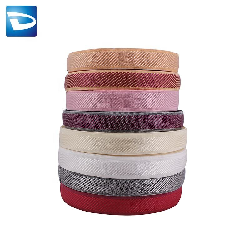 Colorful hot sale Polyester knitted mattress edge banding tape for furniture