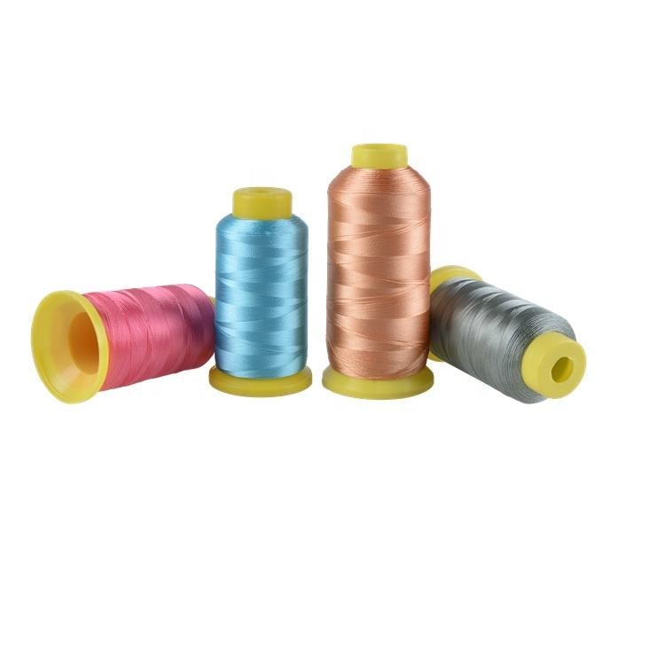 Multi color 100% viscose rayon machine embroidery wholesale thread