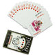 China wholesale customized printing playing cards game pvc plastic game poker cards