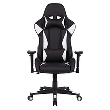 USA STOCK Gaming Chair Racing Computer Desk Office Chair,High Back Seat Height Armrest Adjustable Swivel Ergonomic Chair