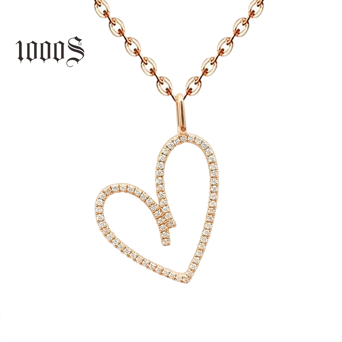 Luxury 18K Real Gold Necklace Trendy Design Dainty Long Drop 18K Solid Gold Diamond Necklace Women Jewelry