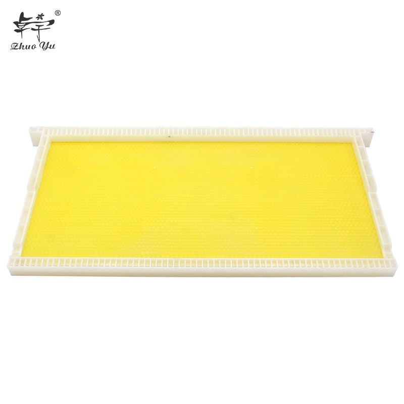 Bee Proof Suits Two Frame Food Grade Plastic Table Top Honey Extractor with Hon