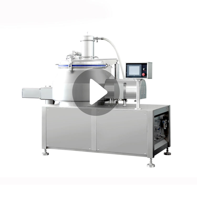 GHL-200 Pharmaceutical Lab Industrial Organic Fertilizer Wet Type Powder Micro Super High Speed Rapid Shear Mixer Granulator