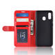 Factory Direct Sales Of Ultra-Thin Leather Phone Case For Samsung A40 Card Slot Phone Back Cover Mobile Wallet Cover