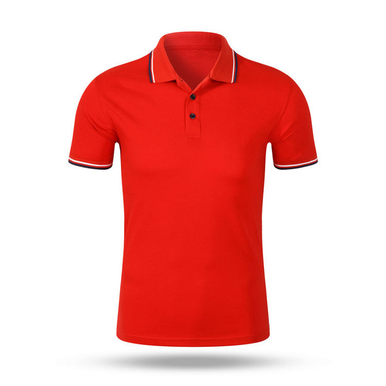 Good quality Polyester/cotton Custom men Polo Shirt