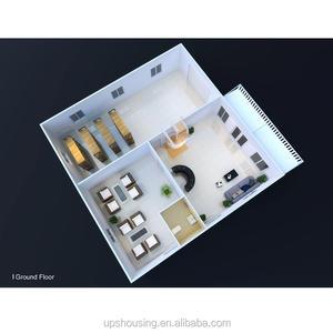 Nueva tecnología de diseño de la escuela a casa Oficina de Proyecto de Construcción para América del Sur de los mercados