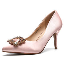 High Heel Stiletto Women's Pumps buckle  Ladies Women Dress  Shoes or wedding shoes