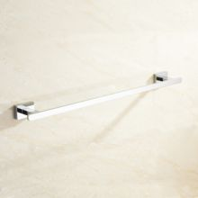 Chrome Wall Mounted Bathroom Accessories Towel Bar
