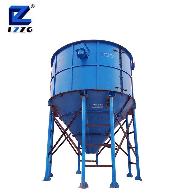 High removal efficiency thickener mining tank with whole plant