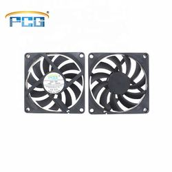 PCG 80*80*10mm ultra-thin DC brushless fan high speed large air volume axial flow fan can be customized