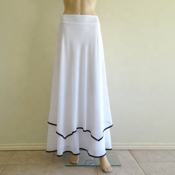 Women Layer indian designs elegant long skirts