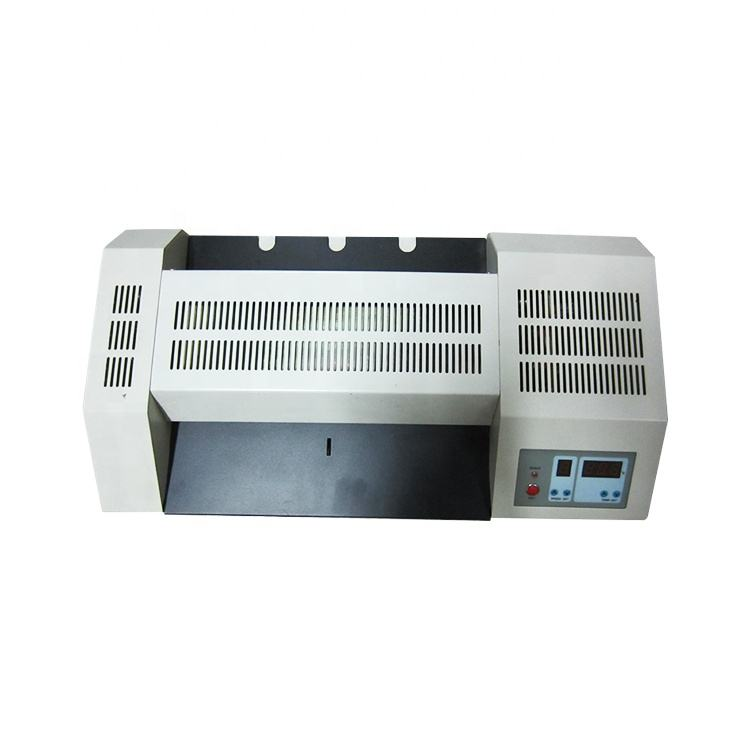 Automatic A3 Size Photo Laminator Hot and Cold Pouch Laminating Machine Iron Shell Sealing Film Equipment