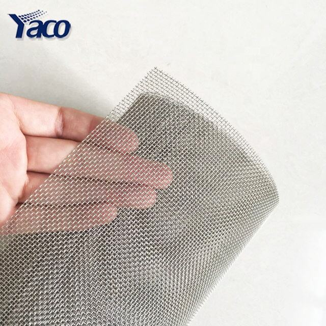 Sus Aisi 304 stainless steel wire mesh / 1000micron 18 mesh SS304 stainless steel wire mesh