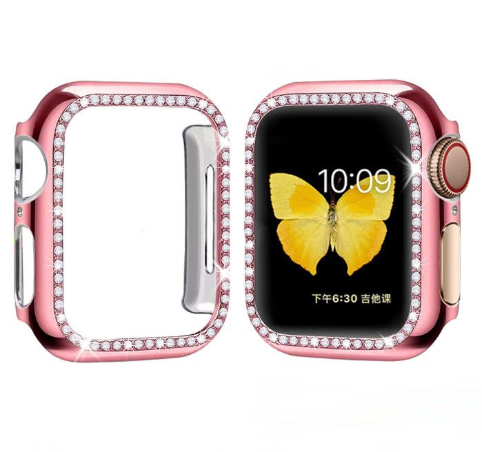Hot Sale Bling Bling Diamond Protective Case for Apple Watch Series 1 2 3 4 5