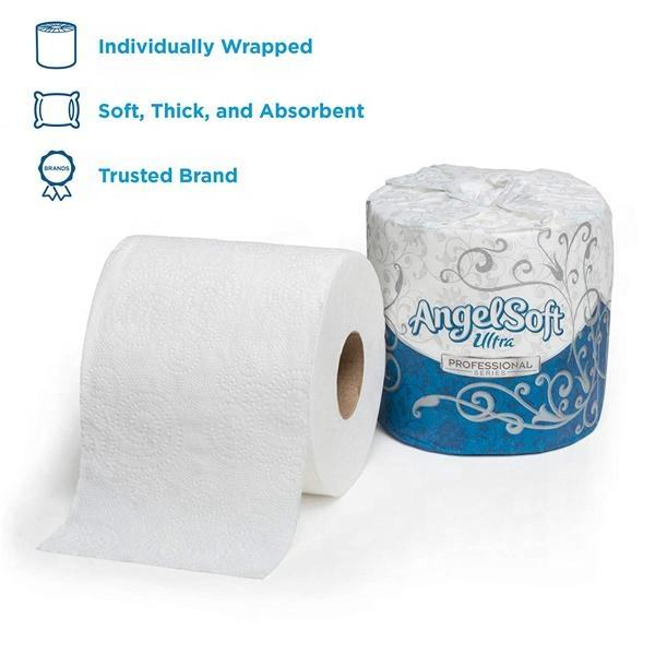 Soft Plus Virgin 2 ply Super Absorbent Bathroom Tissue Toilet Paper/Embossing Toilet Tissue Exported To USA