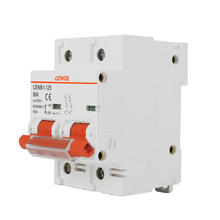 CENB1-125 2P DC 12V 80A Free Sample  Electric Miniature circuit breaker for EV double pole 80 amp MCB good quality diajuntor ACB