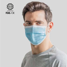 CE FDA certificated 3 ply face mask supplier antiviral face mask